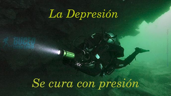 Depresion se cura con presion